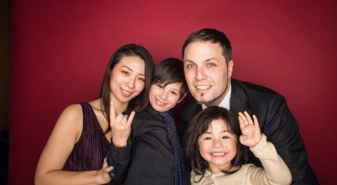 りなさん家族写真