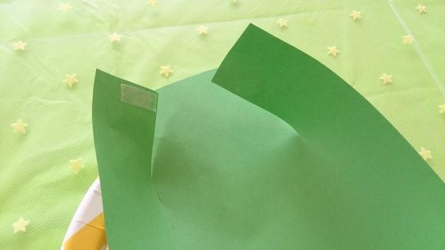 七夕 笹の葉皿