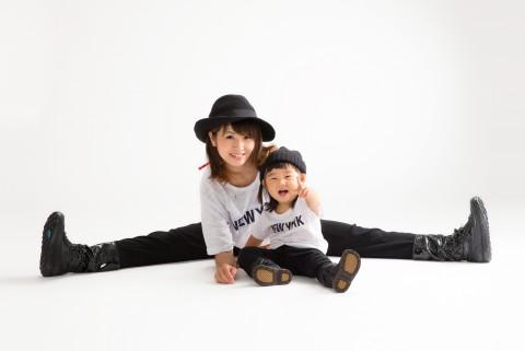 親子写真①(梅津 旭美)