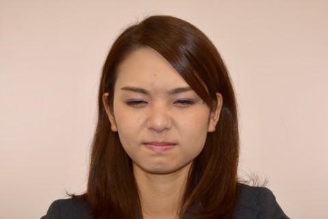 嫌悪の表情
